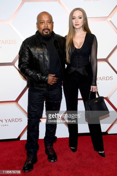 Daymond John and Heather Taras The Shops Restaurants at Hudson Yards Preview Celebration – Red Carpet Arrivals on March 14 2019 in New York City