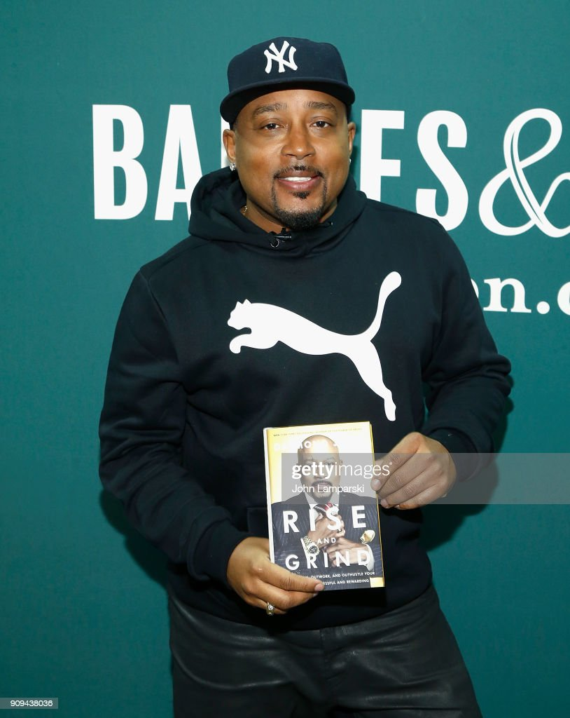 "Daymond John Signs Copies Of His New Book ""Rise And Grind"""