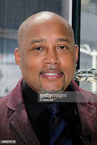 Daymond John visits Extra at their New York studios at HM in Times Square on August 26 2016 in New York City