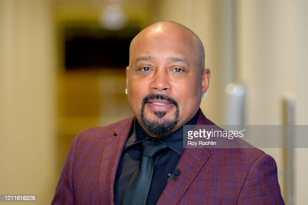 Daymond John visits People TV on March 10, 2020 in New York, United States.