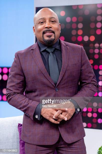 """Daymond John visits """"Reality Check"""" on People TV on March 10, 2020 in New York City."""