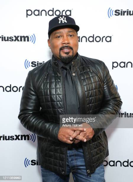 Daymond John visits SiriusXM Studios on March 09, 2020 in New York City.