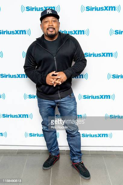 Daymond John visits Sway In The Morning with Sway Calloway on Shade 45 at SiriusXM Studio on June 26 2019 in New York City