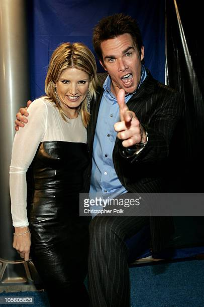Dayna Devon and Mark McGrath during Extra Celebrates 11 Seasons and New Front Man Mark McGrath Inside at The Lounge @ Astra West in West Hollywood...