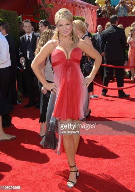Dayna Devon during 58th Annual Primetime Emmy Awards Arrivals at Shrine Auditorium in Los Angeles California United States