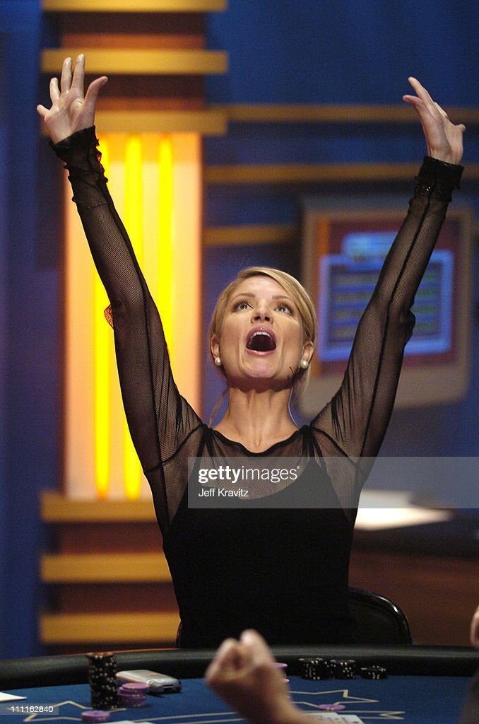 GSN - The Network For Games Presents Celebrity Blackjack - Game 5 - Airing November 9, 2004 : News Photo