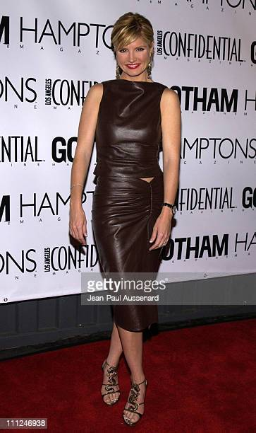 Dayna Devon during LA Confidential Emmy / Fall Fashion Cover Party at Shelter Supper Club in West Hollywood California United States