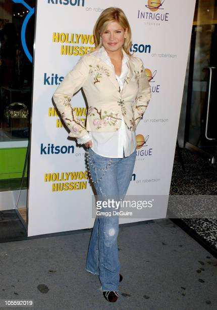 Dayna Devon during Hollywood Hussein Book Party Hosted by Author Ken Baker at Kitson in Los Angeles California United States