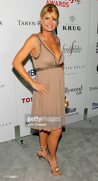 Dayna Devon during Movieline Hollywood Life's Hollywood Style Awards Arrivals at Pacific Design Center in West Hollywood California United States