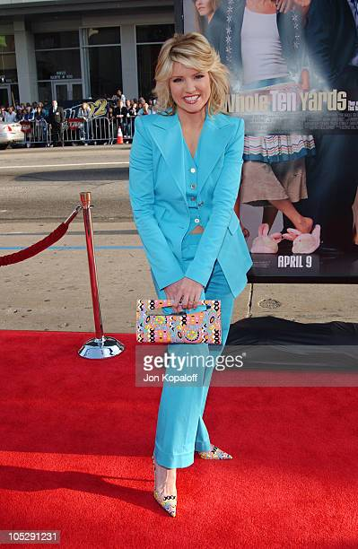 Dayna Devon during The Whole Ten Yards World Premiere at Grauman's Chinese Theatre in Hollywood CA United States