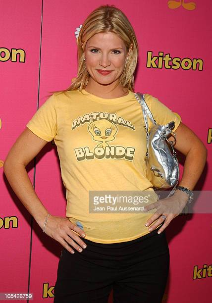 Dayna Devon during Tweety Natural Blonde Shopping Party and Clothing Launch Arrivals at Kitson in Los Angeles California United States
