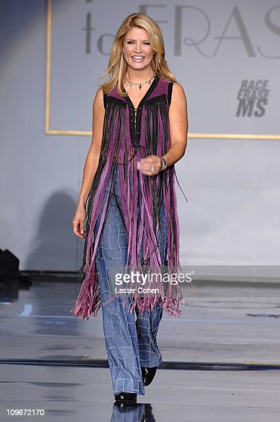 """Dayna Devon wearing Tommy Hilfiger during 14th Annual Race to Erase MS Themed """"Dance to Erase MS"""" - Show at Hyatt Regency Century Plaza in Century..."""