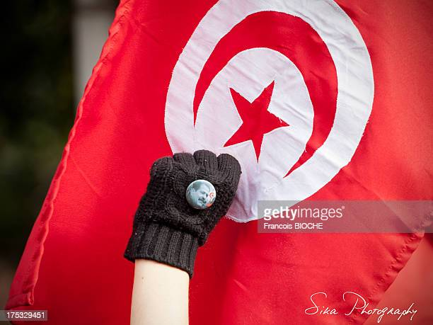 CONTENT] 40 days after the political assassination of chokri belaid in Tunisia a march was organized in memeory of this opponent in Tunis