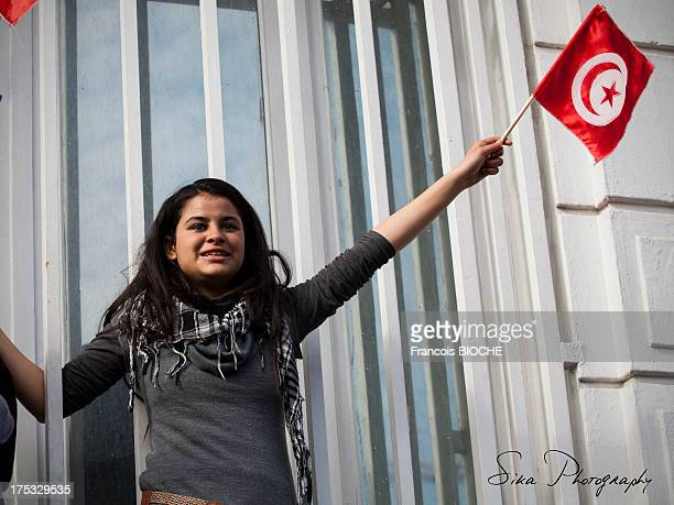 CONTENT] 40 days after the political assassination of Chokri Belaid political opponent to islamist party in Tunisia a march was organized in his...