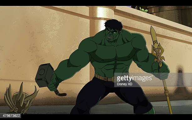 S HULK AND THE AGENTS OF SMASH Days of Future Smash Part 2 Smashguard Hulk follows Leader back in time to the Viking Era and teams up with young Thor...