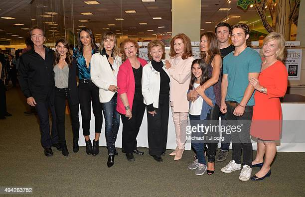 'Days Of Our Lives' actors Drake Hogestyn Kate Mansi Sal Stowers Lauren Koslow Marie Cheatham Peggy McCay Suzanne Rogers guest Kristian Alfonso Billy...