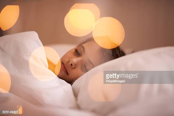 Tage gut angelegt ist glücklich Schlaf