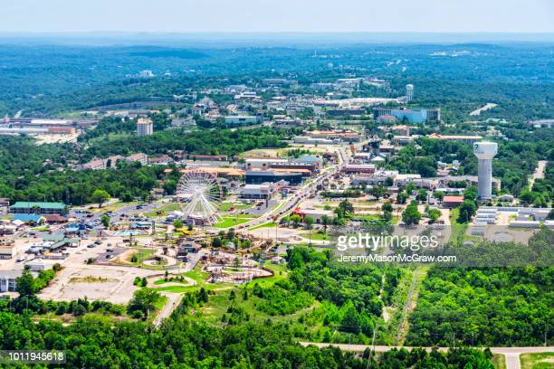 Daytime Aerial View of Hwy 76, Branson Missouri