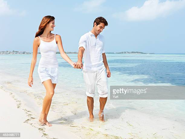 daytime dating - halloween beach stock photos and pictures
