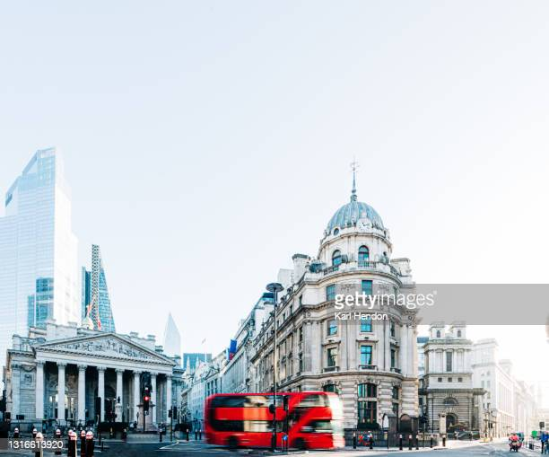 a daytime surface level view of the london skyline - stock photo - central london stock pictures, royalty-free photos & images