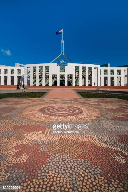 Daytime View Of Parliament House, Canberra, Australia