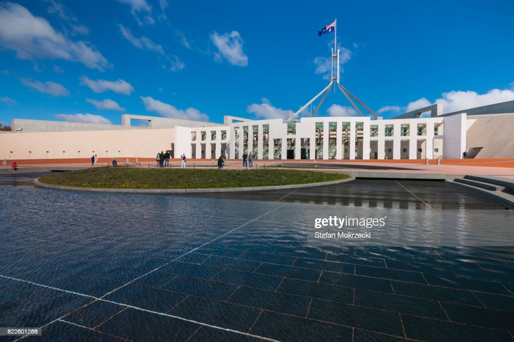 Daytime View Of Parliament House, Canberra, Australia : Stock Photo