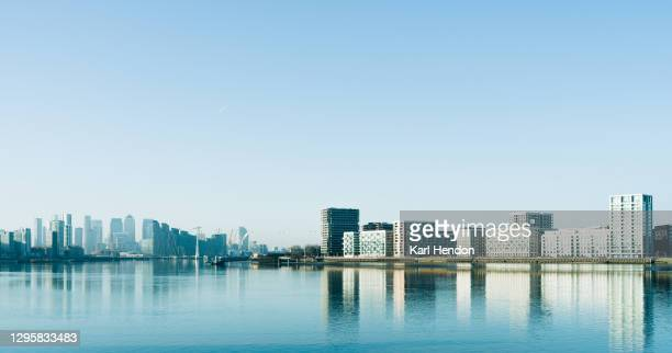 a daytime view of the london skyline - stock photo - europe stock pictures, royalty-free photos & images