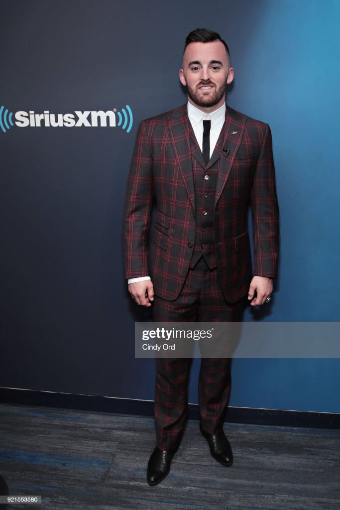 Daytona 500 Winner/ NASCAR driver Austin Dillon visits the SiriusXM Studios on February 20, 2018 in New York City.
