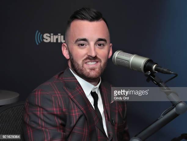 Daytona 500 Winner/ NASCAR driver Austin Dillon visits the SiriusXM Studios on February 20 2018 in New York City