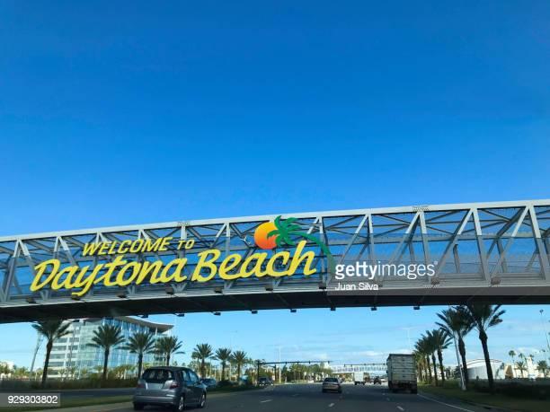 Daytona Beach-Florida welcome sign