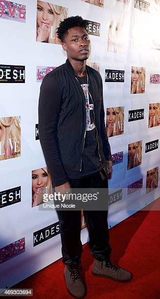 Dayue Brown attends the Private Listening Party For Kadesh aka Desiree Coleman Jackson Hosted By ESPN Sports Analyst Mark Jackson at HOME on April 10...