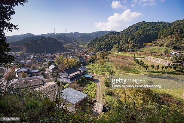Dazaifu village view from Daikozenji ,Kyushu,Japan