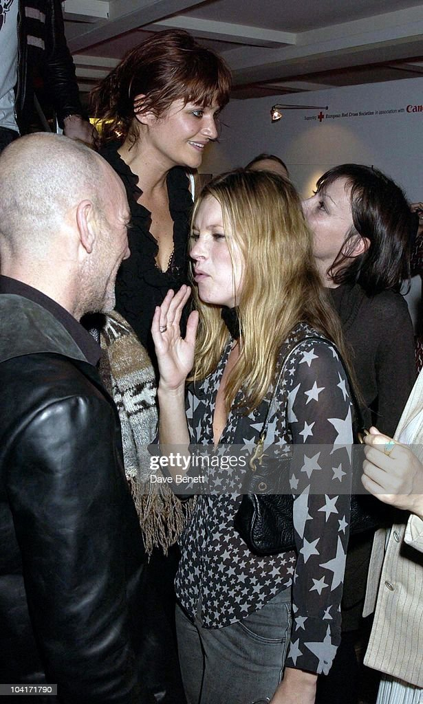 On The Other Side Of The Lens Exhibition (proceeds Go The The Red Cross), At The Tram Studios In Arlington Road, Camden, London, Michael Stipe And Kate Moss