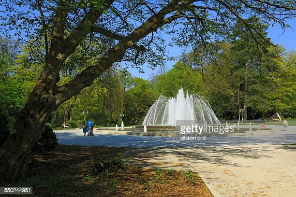 DBad Oeynhausen health resort North RhineWestphalia NRW spa gardens spring trick fountains