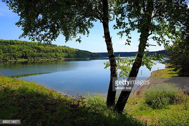 DBad Wuennenberg spa town Aabach Buerener Land Paderborn Plateau Sauerland East Westphalia Westphalian Lowland North RhineWestphalia NRW Aabach lake...