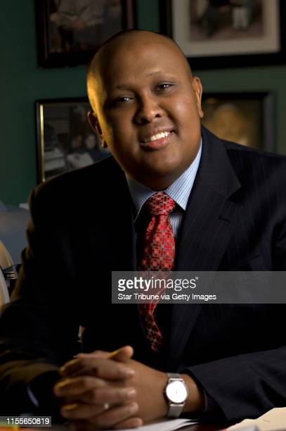 Dbrewster@startribune.com Tuesday_11/29/05_Mpls - - - - - - - - Hussein Samatar, in his westbank area office. Mayor R.T. Rybak today announced that...