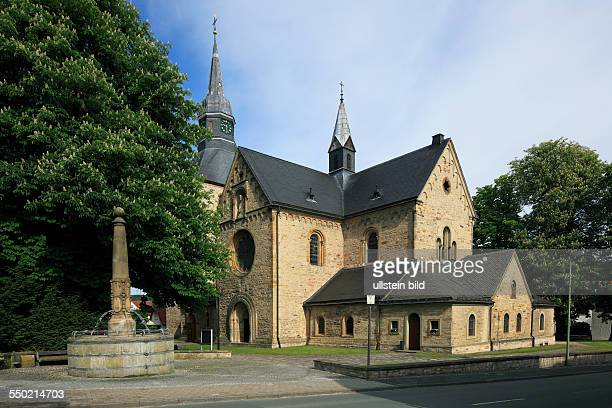DBueren Buerener Land Paderborn Plateau East Westphalia Westphalian Lowland Westphalia North RhineWestphalia NRW catholic parish church Saint Nicolau...