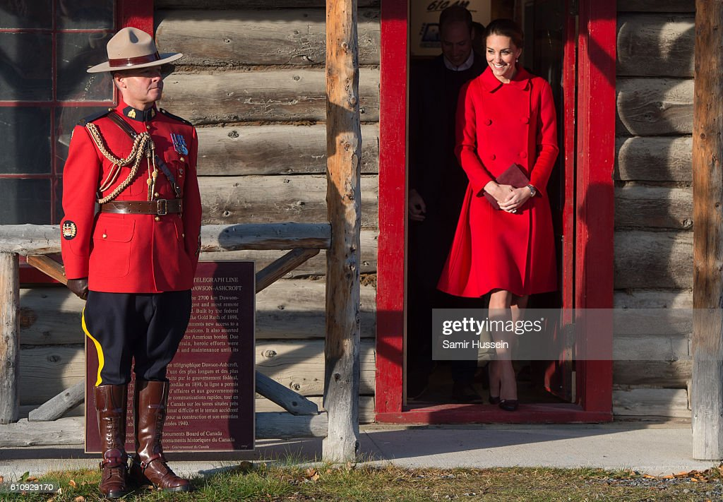 2016 Royal Tour To Canada Of The Duke And Duchess Of Cambridge - Whitehorse And Carcross, Yukon : Photo d'actualité
