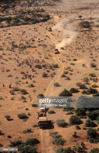 Décembre 1992 Les militaires français de l'opération Restore Hope en Somalie