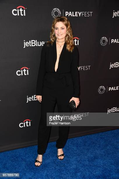 MŠdchen Amick attends The Paley Center For Media's 35th Annual PaleyFest Los Angeles Riverdale at Dolby Theatre on March 25 2018 in Hollywood...