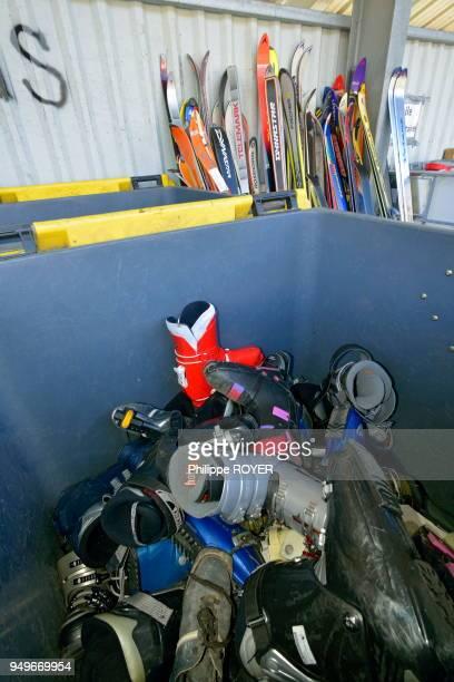Déchetterie et poubelle selective à BourgSaintMaurice