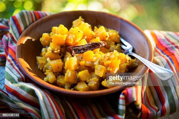 StirFried Orange Pumpkin/Butternut Squash