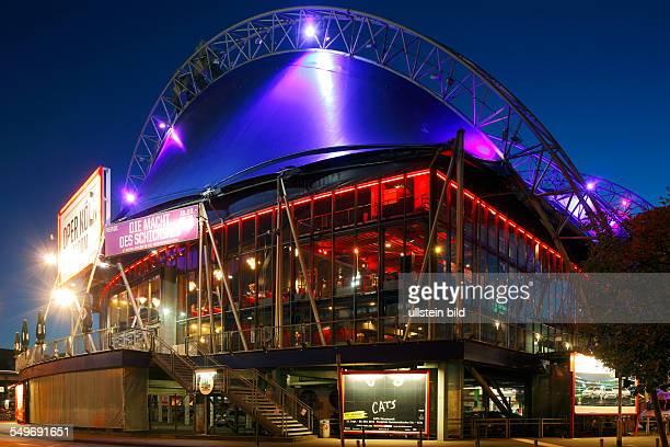 DCologne North RhineWestphalia NRW Musical Dome musical theatre evening illumination