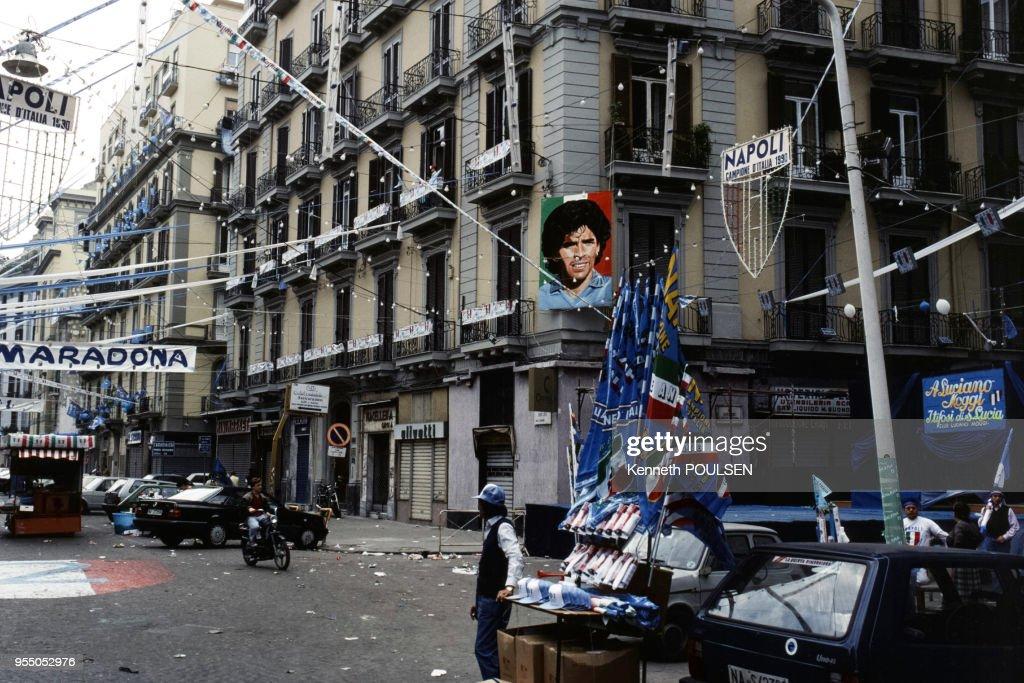 Victoire de Naples en Série A : News Photo