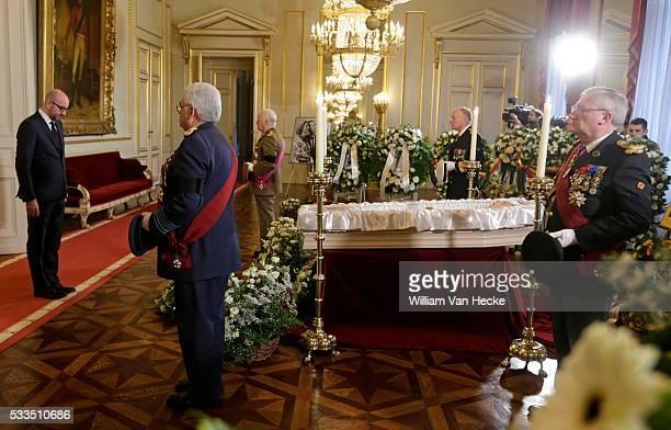 - Décès de la Reine Fabiola de Belgique: les Présidents de la Chambre et du Sénat, le Premier Ministre, les Présidents des Parlements des Communautés...