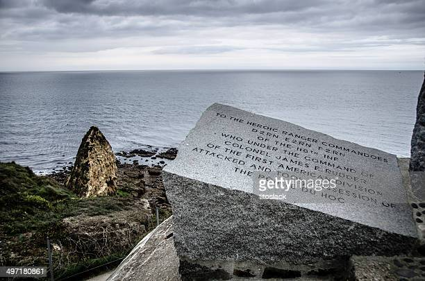 d-day memorial - omaha beach stock pictures, royalty-free photos & images