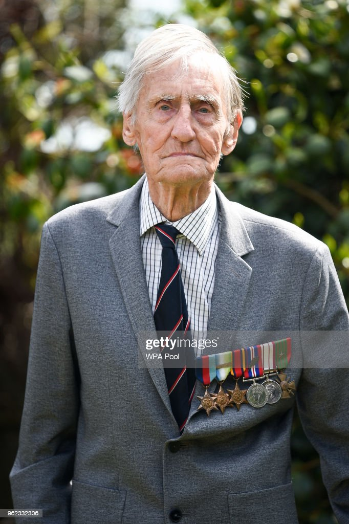 D Day Veteran Jim Booth 96 Seen On May 17th 2018 In