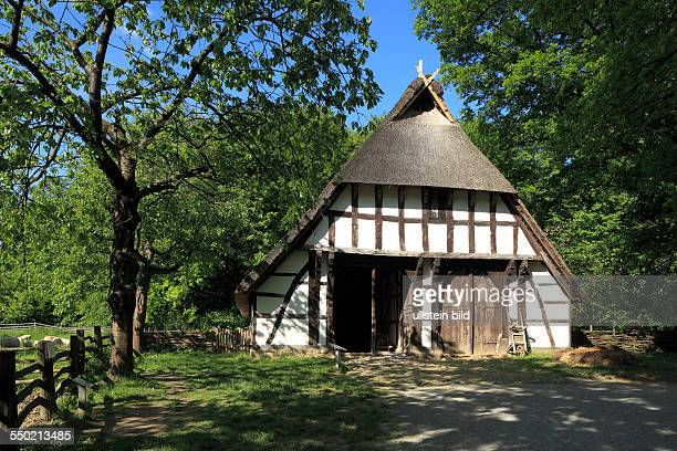 DDetmold Werre Teutoburgian Forest Teutoburg Forest / Egge Hills Nature Park East Westphalia North RhineWestphalia NRW Detmold Openair museum cottage...