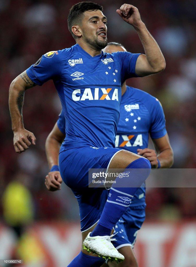 Flamengo v Cruzeiro - Copa CONMEBOL Libertadores 2018 : ニュース写真