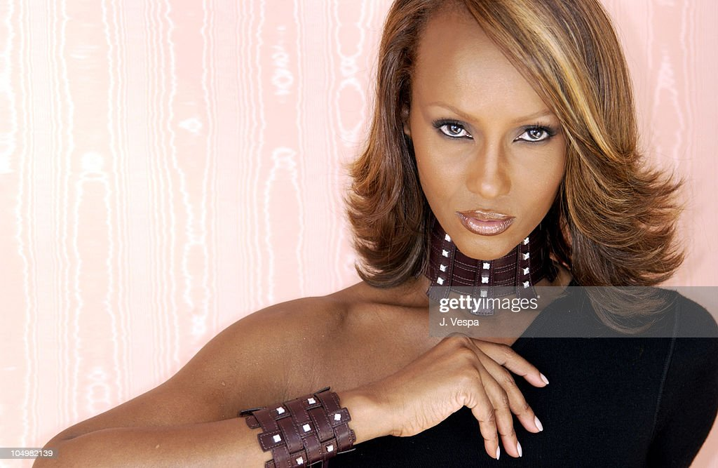 Cannes 2002 - De Beers Announces Partnership with Iman